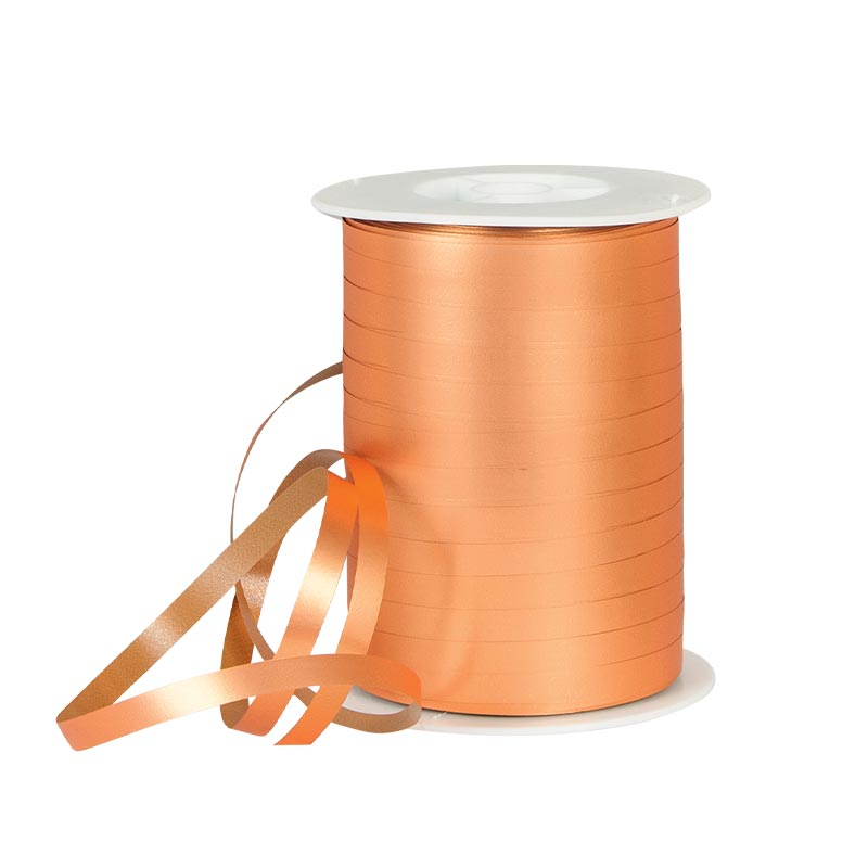 powder finish tangerine coloured gift curling ribbon laval europe. Black Bedroom Furniture Sets. Home Design Ideas