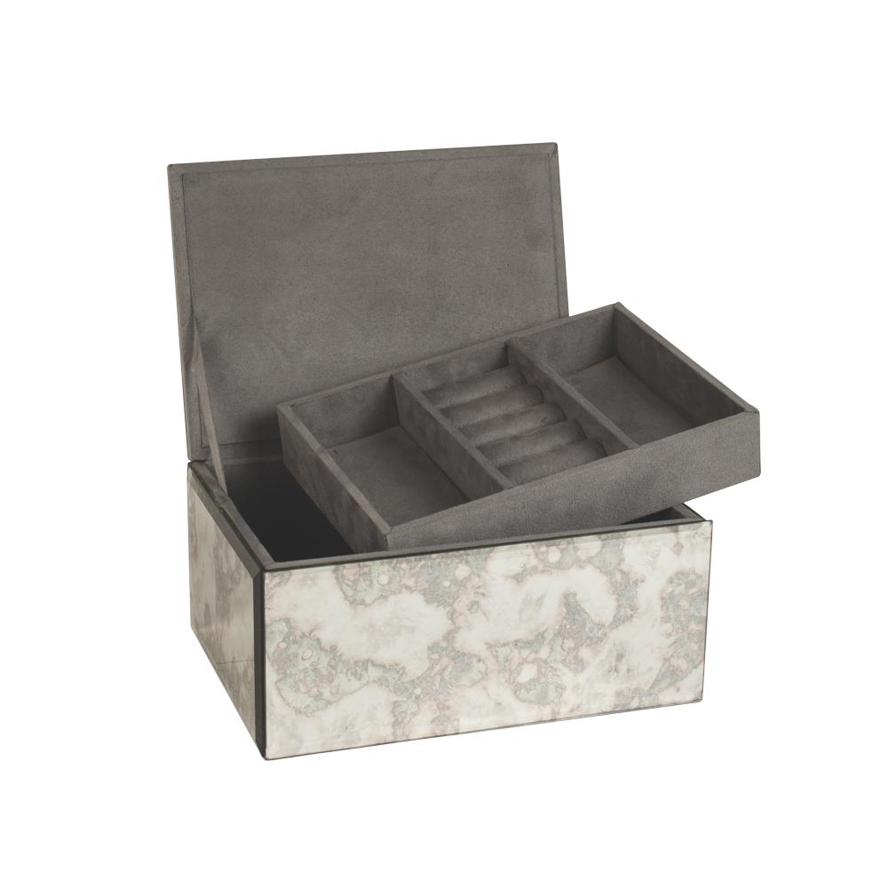 coffre bijoux miroir patin antik laval europe. Black Bedroom Furniture Sets. Home Design Ideas