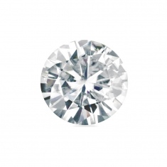 Round \\\'Forever Brilliant\\\' Moissanite - 57 facets