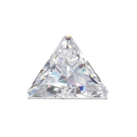 Triangle cut \\\'Forever Brilliant\\\' Moissanite - 37 facets
