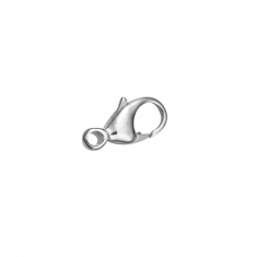 Sterling silver lobster claw trigger catch