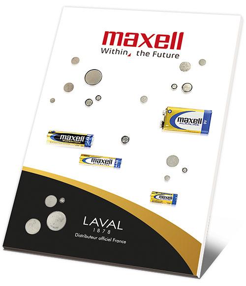 Catalogue Piles Maxell