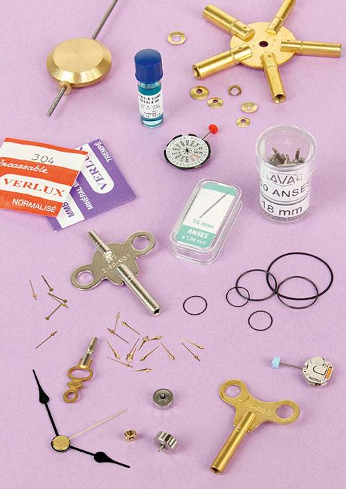 Watchmaking supplies