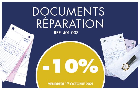 Documents réparation