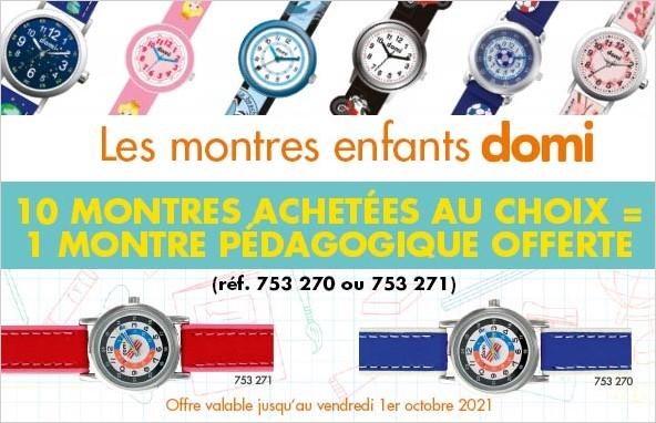 Offres montres Domi