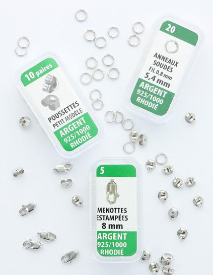 une grande variété de modèles ramasser limpide en vue Apprêts pour bijoux | Laval Europe
