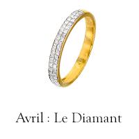 Pierre d'avril : le Diamant