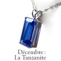 Pierre de Décembre : la Tanzanite