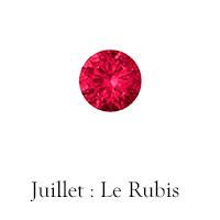 Pierre de juillet : le Rubis