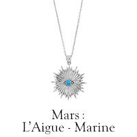 Pierre de mars : l'Aigue Marine