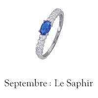Pierre de septembre : le Saphir