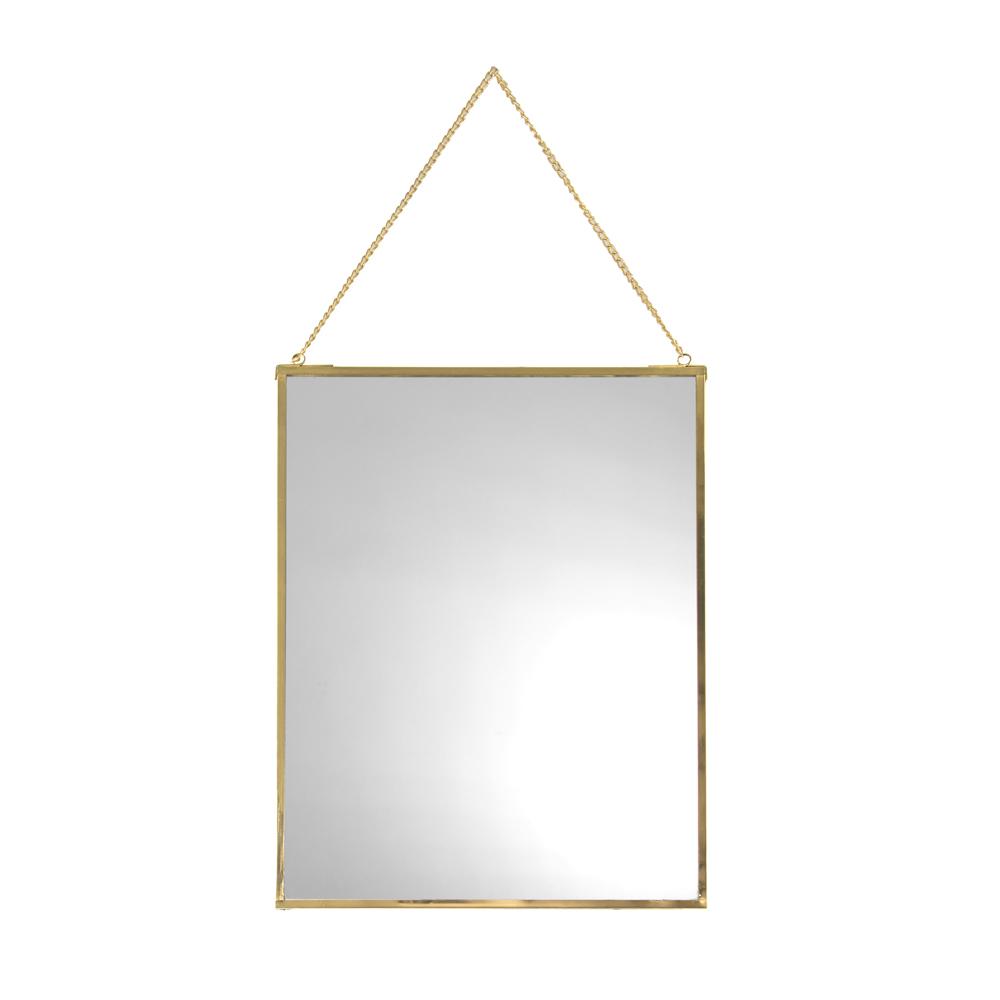 miroirs muraux en m tal dor laval europe. Black Bedroom Furniture Sets. Home Design Ideas