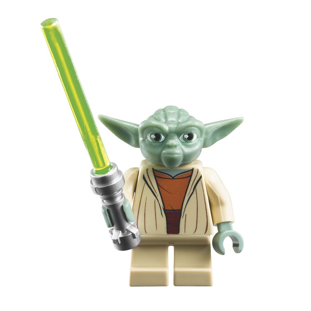 Montre lego star wars ma tre yoda avec figurine laval europe - Maitre yoda lego ...