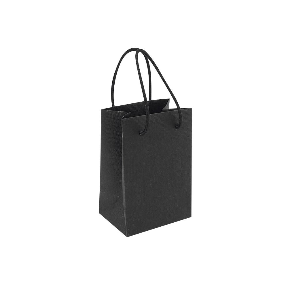 sacs papier mat aspect grain noir 120 g laval europe. Black Bedroom Furniture Sets. Home Design Ideas