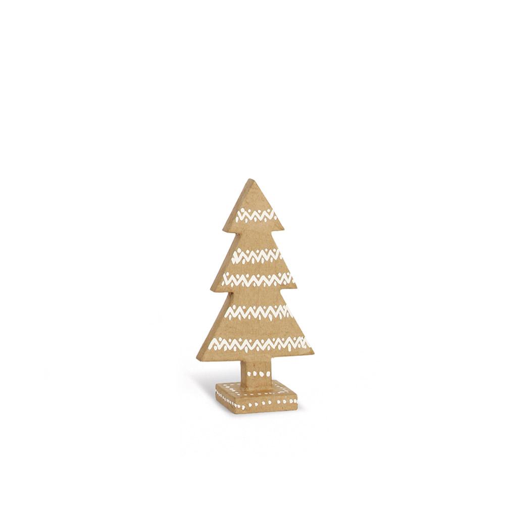Sapin De Noel Kraft : sapins de no l en kraft avec motifs guirlandes h 15 cm ~ Pogadajmy.info Styles, Décorations et Voitures