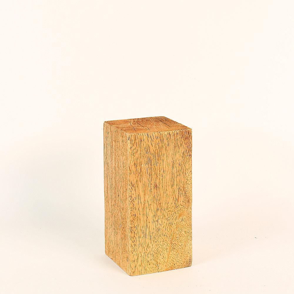 support de pr sentation en bois brut 8x8x16cm laval europe. Black Bedroom Furniture Sets. Home Design Ideas