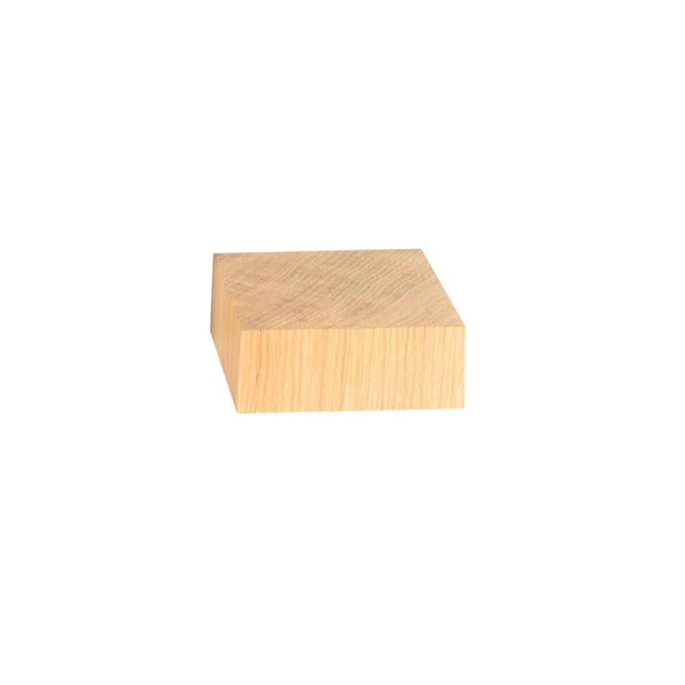 support de pr sentation en ch ne massif 8x8 3 cm laval europe. Black Bedroom Furniture Sets. Home Design Ideas