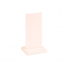 Pearlescent finish PMMA earring display stand - 3 pairs