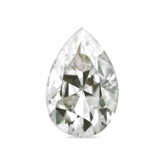 Pear cut \\\'Forever Brilliant\\\' Moissanite - 71 facets