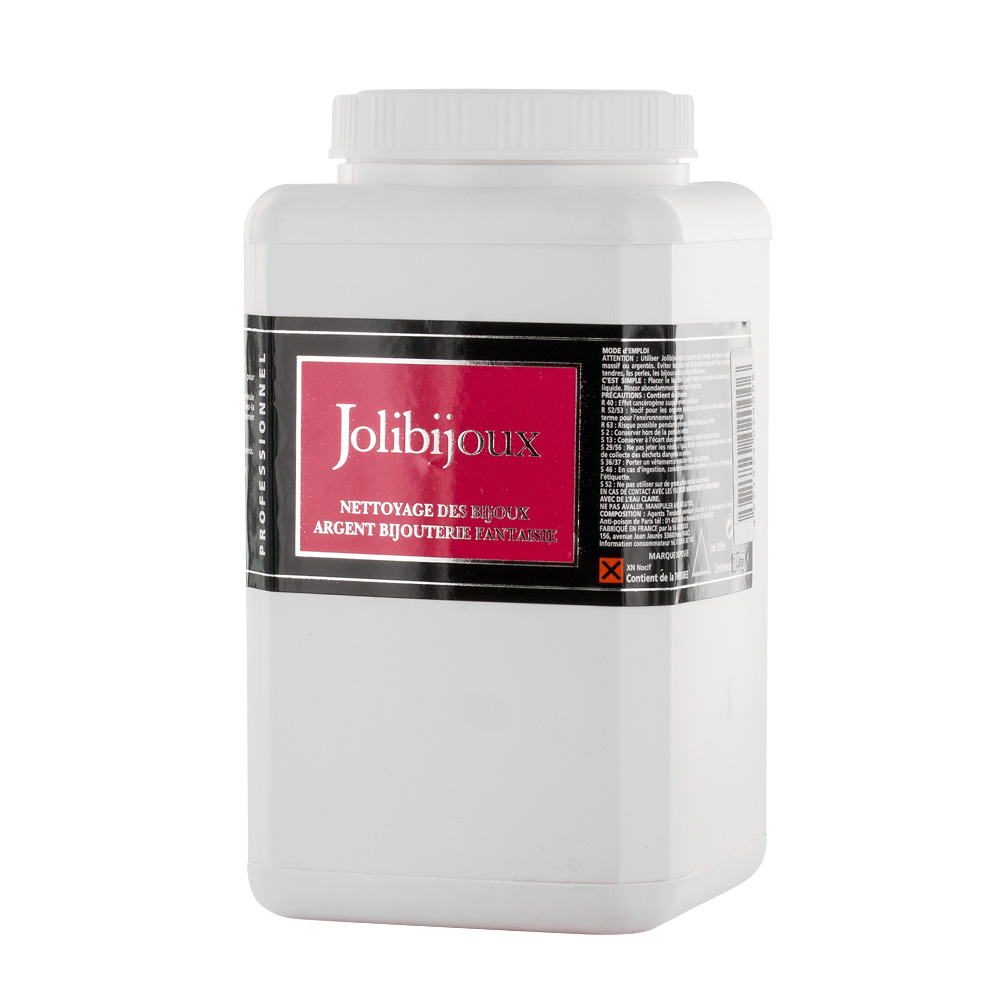 Jolibijoux professional silver cleansing fluid - 1litre bottle