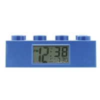 Blue Lego Brick alarm clock