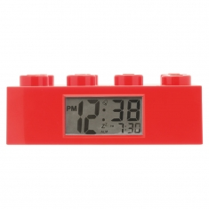 Red Lego Brick alarm clock
