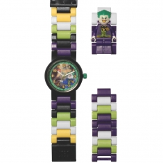 Lego Superheroes children\\\'s watch featuring the Joker